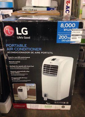 LG portable air conditioner 8000BTU