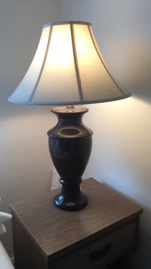 New and used lamp shades for sale in cleveland oh offerup beautiful brown ceramic lamp excellent condition mozeypictures Choice Image