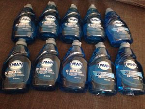10 Bottles of DAWN Dishwashing. Please See All The Pictures and Read the description