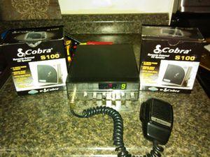 Cobra 29 Plus CB Radio and Speakers