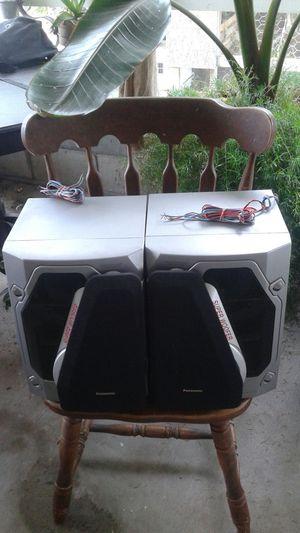 Panasonic 250watts set of speakers