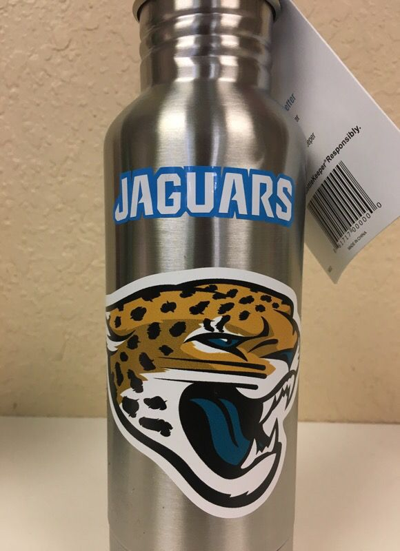 Jaguars Bottlekepper Beer Bottle Cooler