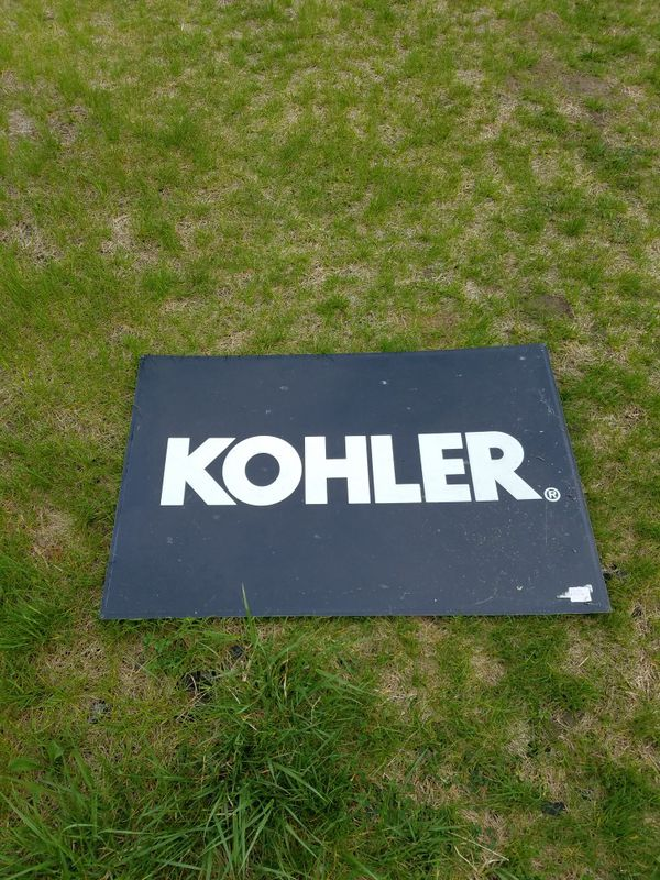 Genuine Factory Kohler Engine sign (Collectibles) in San Pierre, IN