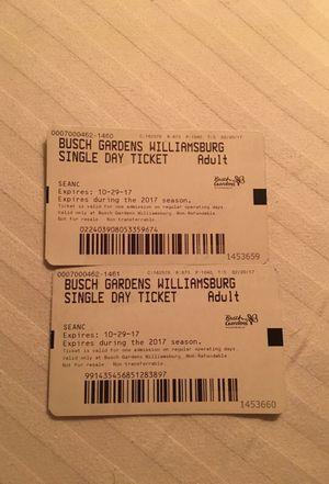 busch gardens tickets. beautiful ideas. Home Design Ideas