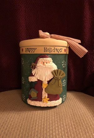 Christmas Cookie Jar , new never used
