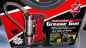Zee line 19.2 volt grease gun