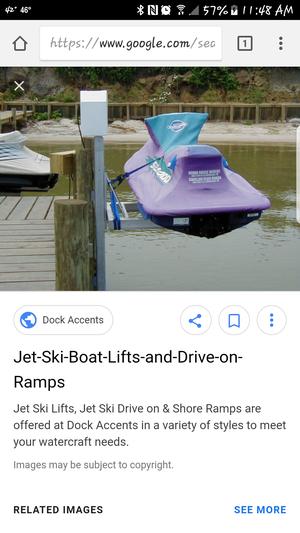 Jet ski lift
