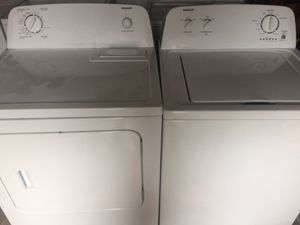Admiral Matching Washer And Dryer Set