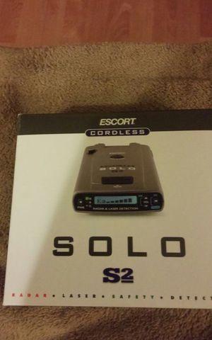 SOLO S2 escort cordless radar detector