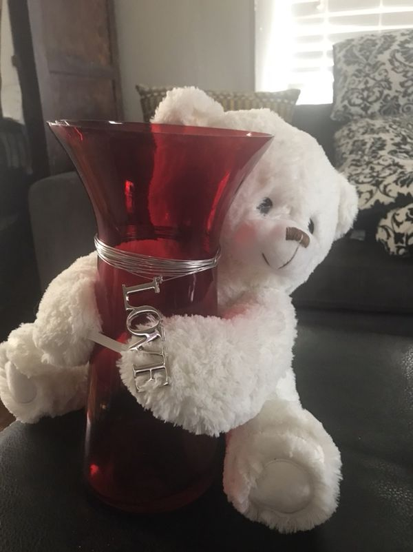 Bought And Did Not Use 15 Vase Teddy Bear Household In Fuquay