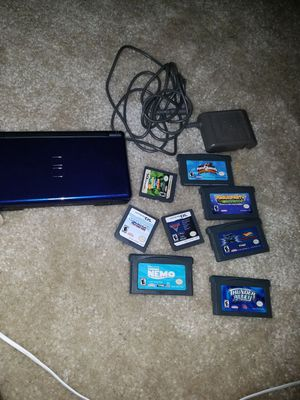 Ds lite and games ..