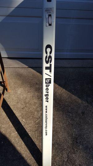 CST Berger 8 ft aluminum survey rod.