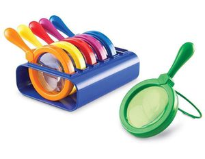 Brand New! Jumbo Magnifying Glasses by Primary Science-$20