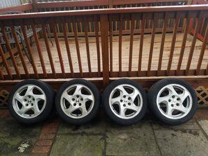 Honda Rims with Tires 5x114 (5 LUG) 205/50/R16