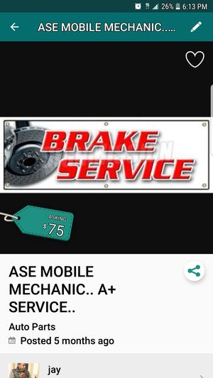 A.S.E AUTOMOTIVE TECH..WE DO EVERYTHING