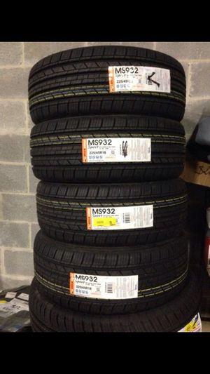 Molestar ms932 sports 225/45R18 tires set of 4