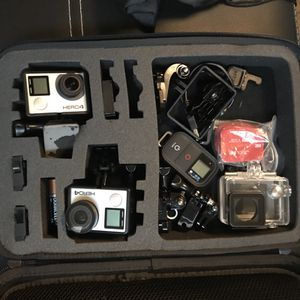 GOPRO 4 black x2 and My Private Set