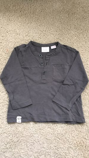 Zara long sleeve shirt size 6/9 months
