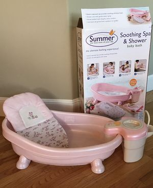 Summer Soothing Spa Shower Baby Bath