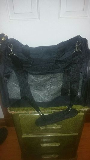 Pet carrier good for small dogs or cats