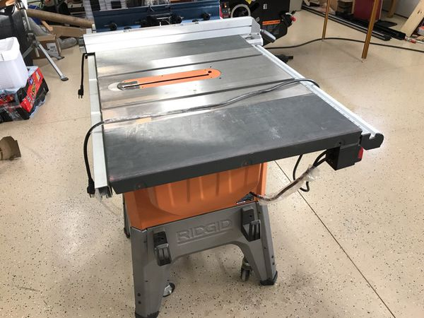Ridgid r4512 table saw with bosch ra1181 router table for 10 cast iron table saw r4512