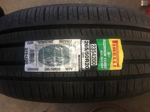 One Pirelli pair almost New 265/50/R20