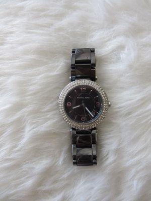 Women's Black & Silver Michael Kors Watch