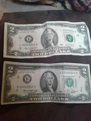 Vendo 2.00 dólares son 10 de 2.00 dólares de 1976 y más