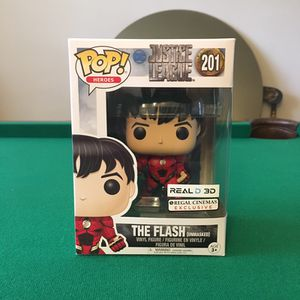 Flash Pop heros Vinyl Figure