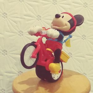 Mickey Mouse training wheel bicycle