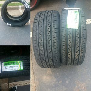 Brand new Delinte tires