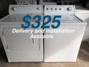 Whirlpool Washer&Dryer Set