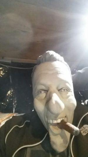 Good ol Billary Holloween mask w cigar