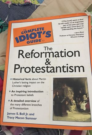 Help book on Protestant religion