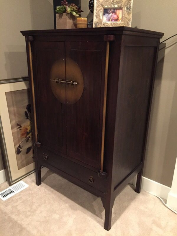 Pier 1 Imports Armoire Tv Media Cabinet Furniture In