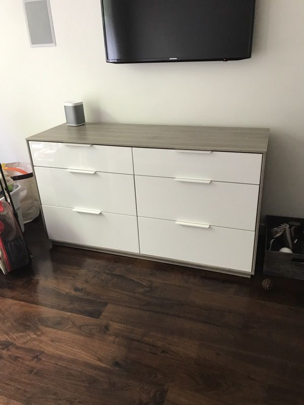 Rare Ikea Askvoll 6 Drawer Dresser Furniture In Los Angeles Ca Offerup