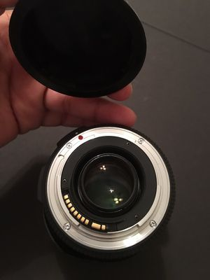 Canon mount sigma lens used 5 times