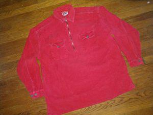 Vintage Marlboro Corduroy 1/4 Zip shirt
