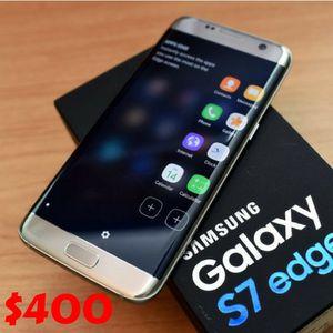 Samsung Galaxy S7 Edge - Factory Unlocked - Comes w/ Box + Accessories