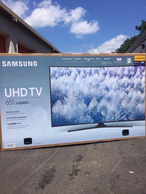 "Samsung - 65"" Class (64.5"" Diag.) - LED - 2160p - Smart - 4K Ultra HD TV (UN65MU6300)"