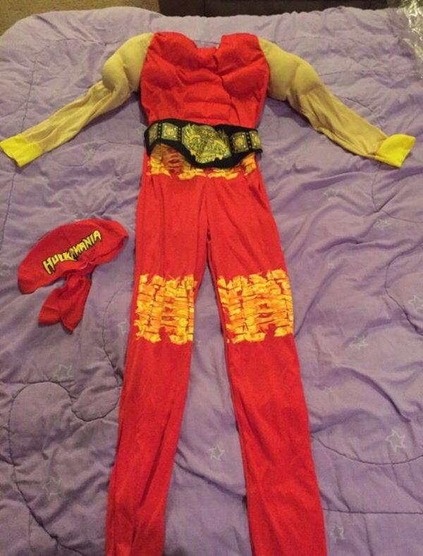 hulk hogan costume baby