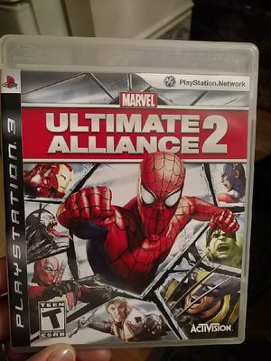 PS3 Ultimate Alliance 2