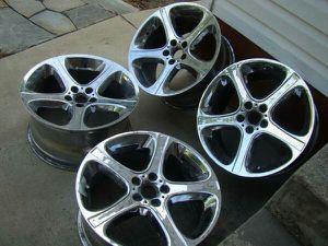 BMW RIMS WHEELS X5 STYLE 87 R 20X10.5 F20X9.5 5X120 USED