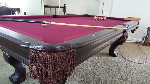 leisure bay pool table w ping pong top & accessories (furniture) in