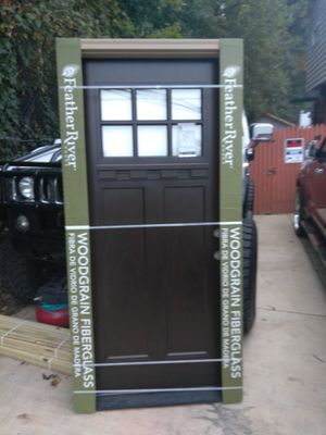 36X80 left hand Entry door price is very firm no offers