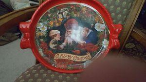 Plate ,Merry Christmas good.
