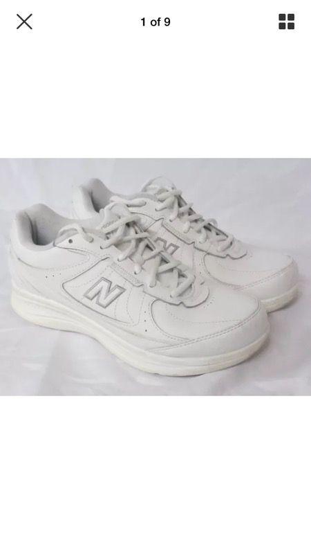 New Balance 577 White Shoes Men's Sz 8 2E DSL-2 Walking Diabetic (Clothing  & Shoes) in La Crosse, WI