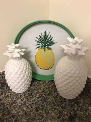 Pineapples cooking jar