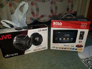 Double din bluetooth speakers reverse camera