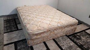 Queen Size Mattress and Box Spring Set Pillowtop